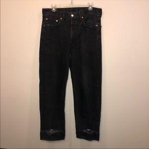 Vintage Levi's Orange Tag 550 Distressed Jeans